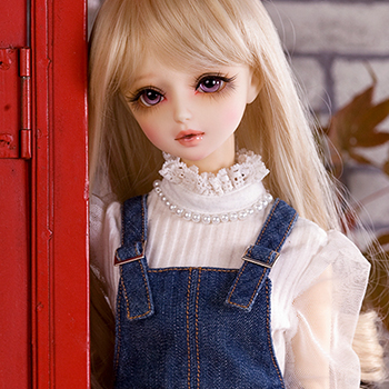 bjd accessories Original AS white sweater 1/3 bjd female dream top quality sweet doll as clothing winter doll costume cosplay<br>