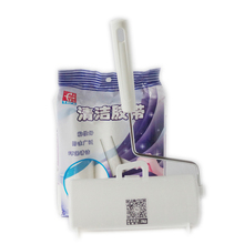 Handheld TEAR TYPE ROLLS STICKY LINT REMOVER 3pcs/bag , Lint Roller Pet Hair ALONG WITH PLASTIC HANDLE
