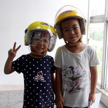 5-14 Years Kids Open Face Motorcycle Helmet Motorbike Cute Casco Capacetes For Children(China)