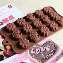 3D Relief Flowers Cake Mold European Rome Pattern Decorating Silicone Fondant Chocolate Mould Home DIY Baking & Pastry Tools