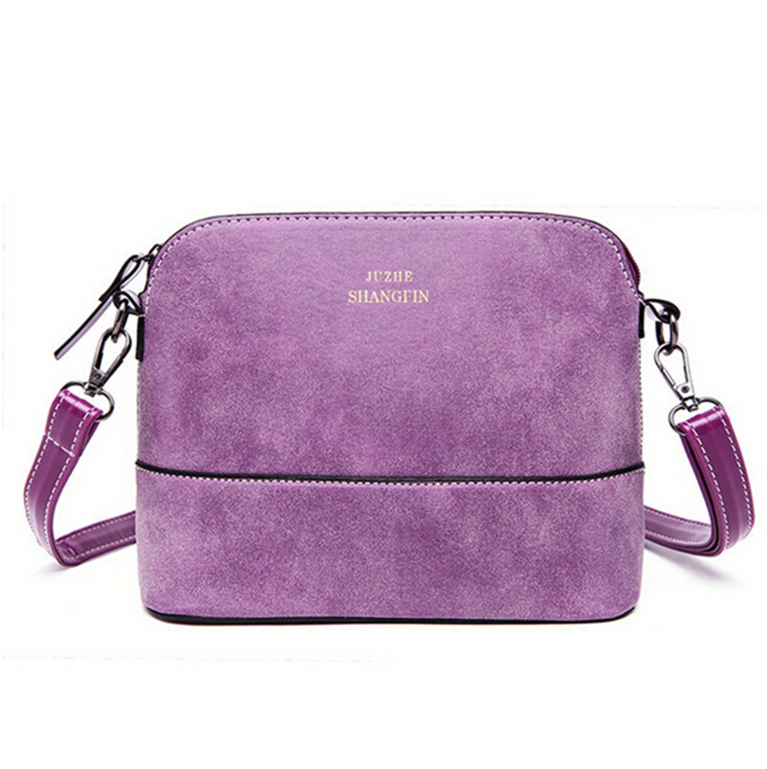 2015 famous designer brand bags women leather handbags Retro nubuck leather handbags fashion shell small Shoulder Messenger Bag<br><br>Aliexpress