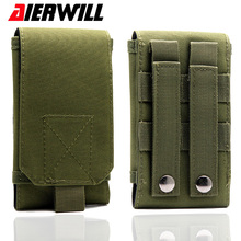 Outdoor Sport Phone Bag Universal Holster Hook Loop Army Belt Waist Pouch Bag Wallet Case For Xiaomi MI6 Redmi 5X Note 4 4X Pro