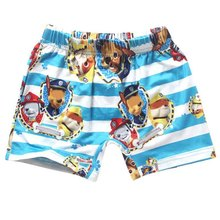 new 2018 fashion cartoon dog clothes baby boys shorts summer children chothing kids boys the beach swimming trunks(China)