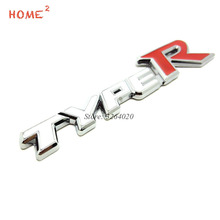 Car Styling Metal Emblem Stickers Badge Decals for Type-R Type R Logo for Honda CRV Pilot CRZ Odyssey City Jazz Accord Civic HRV(China)