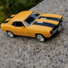 Brand New 1/36 Scale USA 1969 Chevrolet Camaro SS Vintage Diecast Metal Car Model Toy For Collection/Gift/Kids