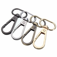 4 Colors 5Pcs 48mm Bag Clasps Lobster Swivel Trigger Clips Snap Hook For 20mm Strapping For DIY Accessories Keychain Parts