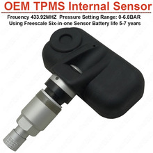 Wireless Car TPMS Internal Sensor for OEM TPMS High Pressure High Temperature Fast leakage Alarm Battery life more than 5 years