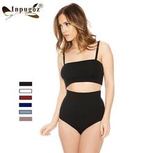 2016 New Hot Swimsuit 2 Pieces Bodysuits Summer inner Playsuits Beach Wear Strap Short Sexy Rompers(China)
