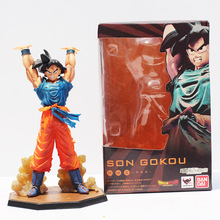 "6.8"" Figuarts zero Anime Dragon Ball Z Son Goku Genki dama Spirit Bomb PVC Action Figure Collection Toy Free shipping(China)"