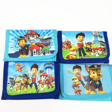 12pcs Mini Coin Purse Money Bag Patrolling Canine Dog Wallet Birthday Party supplies Gift Party Favors For Kids Boy Girl(China)