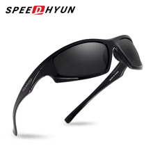 SPEEDHYUN Men's Sunglasses High Quality Polarized UV400 Driving Male Sun Glasses For Men Women Eyewear Oculos Gafas S726(China)