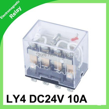 LY4 coil voltage dc 24v relay general purpose 4Z(4C) RED LED electric - YIYA IMP&EXP CO.,LTD store