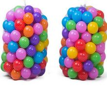 100pc 50pc Baby toys ball non - toxic wave wave ball color wave ball thick plastic sea ball HK0840
