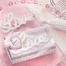 New Love Note Bookmark Novelty Ducument Book Marker Label Stationery Creative Love Alloy Silver Bookmark Exquisite Gift