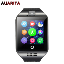 Buy Free Q18 Passometer Smart watch Touch Screen camera TF card Bluetooth Wrist Watch smartwatch Android IOS Phone for $15.49 in AliExpress store