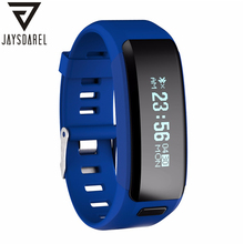 JAYSDAREL NO.1 F1 Heart Rate Monitor Smart Watch Waterproof IP68 Swim Smart Wristwatch Bracelet for Android iOS PK MI Band 2(China)