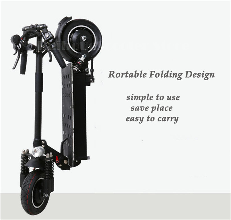 UBGO Powerful Electric Scooter 10 Inch 52V60V Two Wheel Electric Scooters Double Drive Electric Scooter 2000W Motor for Adults (23)