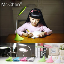 Mr.Chen Protect Eye Touch Promise Dimming USB Rechargeable Light Adult Children Reading Writing Escritorio Table Led Desk Lamp