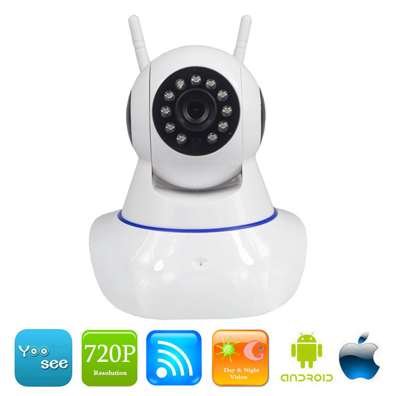 MSeeAD Home Security Wireless IP Camera Wifi 720P HD CCTV Camera Indoor Surveillance Night Vision CCTV Mini Baby Security Camera<br>