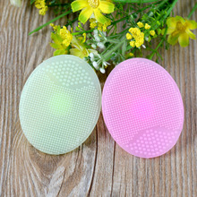 New Cleaning Pad Wash Face Exfoliating Brush SPA Skin Scrub Cleanser Tool 1Pcs(China)