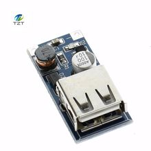 9V 12V 24V to 5V 3A USB step-down voltage regulator module DC-DC Converter Phone Charger Car Power Supply Module  blue