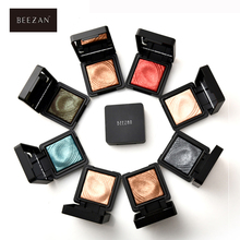 2017 Beezan Brand 8 Color Glitter Shimmer Single Eyeshadow Palette Waterproof Lasting Mineral Powder Eye Shadow Pigments Make Up