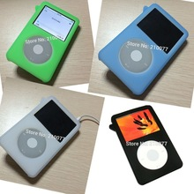 Silicone skin case Cover for new iPod Classic 80GB 120G 160G Video 30gb Gen Cover Holder
