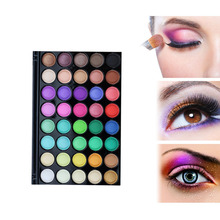 40 Color Eyeshadow Pearl Matte Shimmer Eye Shadow Compact Palettes Earth Warm Luminous Sets Makeup Palette Eye Shadow Cosmetic