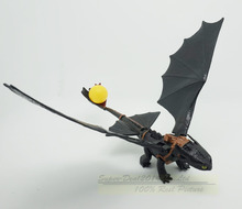 20cm How to Train Your Dragon 2 Dragon Toys Night Fury Toothless PVC Action Figure Toys Dolls