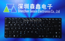100% brand new and original PO keyboard for ASUS Eee PC 1215 1215P 1215N 1215T 1215B 1225B 1225C U24 U24E black free shipping(China)