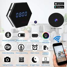 Buy 1080P Wifi Camera Alarm Clock HD P2P Camera Security Recorder Clock App Wifi IP Remote IR Night Vision Clocks Home V3 for $61.10 in AliExpress store