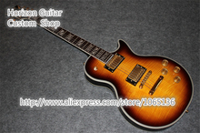 Top Quality Globe Logo Supreme  Electric Guitar Vintage Sunburst In Stock For Shipping