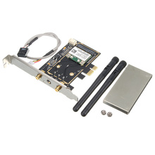 Brand New 300Mbps Wireless Wifi PCI-E Card Desktop Adapter With Antenna Wireless Wifi Bluetooth 4.0 For Desktop Laptop