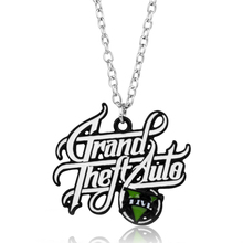 dongsheng PS4 Xbox PC Rockstar Game GTA V Grand Theft Auto 5 Necklace Chain Pendant Necklaces Collier Colar Necklace -30