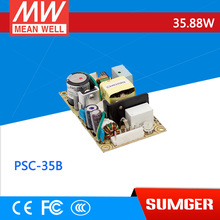 [Sumger2] MEAN WELL original PSC-35B 27.6V meanwell PSC-35 35.88W Single Output with Battery Charger(UPS Function) PCB type