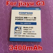KPS 3400mAh JY-G3 For Jiayu G3 battery jiayu G3S g3C G3T JY G3  free shipping+Online Tracking