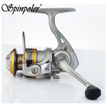 Mini Spinning Fishing Reel 5BB 5.2:1 Metal Coil Ultra Light Small Spinning Reel For Ice Fish Pen Fishing Rod(China)