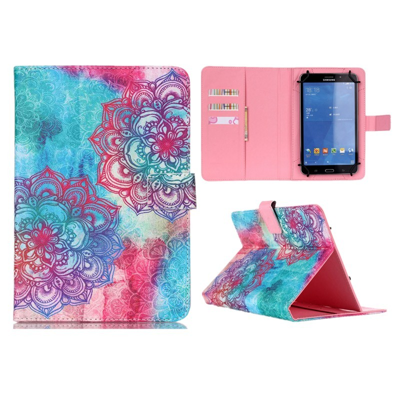 Wallet Universal10 inch Tablet PU Leather Case Stand Cover For ARCHOS 101 Neon101 Xenon101 XS 2 10.1 For Android Cases S5C53D (26)
