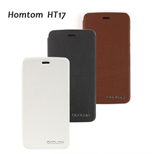 Homtom HT17 Leather Case Flip Case Cover Phone Cases For Homtom HT17 pro Cell Phone Three Colours Protector Cases