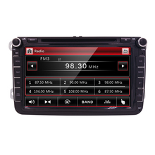 RDS Radio Stereo DVD Player for Car Volkswagen VW Jetta Golf Passat, Polo, Tiguan Skoda Yeti Seat with Bluetooth Car Headunit SD(China)
