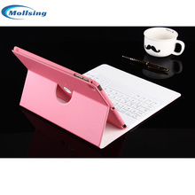 "Mollsing For ipad mini 4 7.9"" Bluetooth Keyboard ROCK leather case Cover Protective Bluetooth Keyboard Case for ipad mini4(China)"
