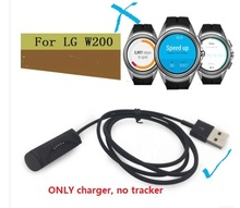free ship.1pc replace usb charger for  L G Watch Urbane 2nd geneartion.usb cable for LTE W200 wather tracker.W200 charger
