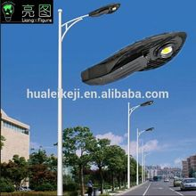 5m 6m 7m 8m Self bending arm (cone pole) street light led pole lights street lamppost(China)
