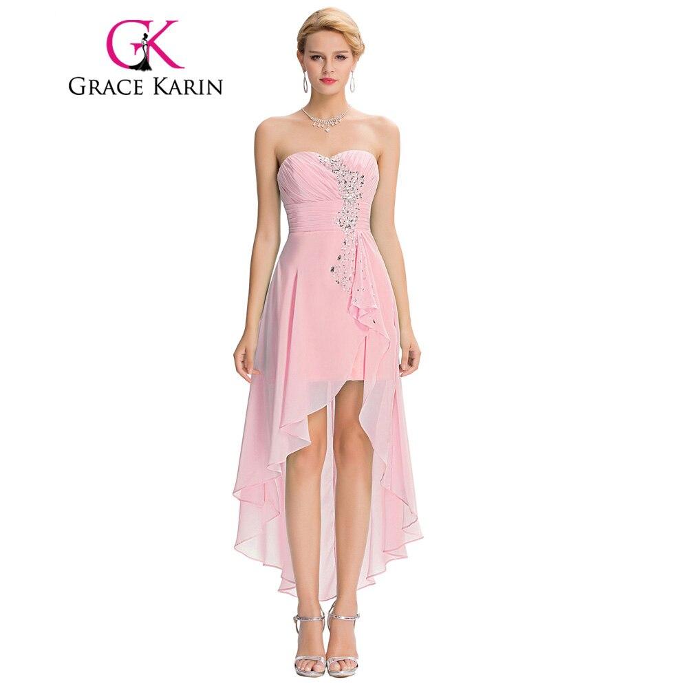 Compra pink sweetheart short bridesmaid dress y disfruta del envío ...