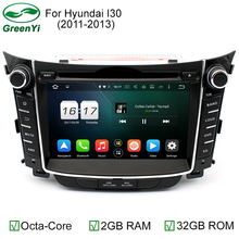 2GB RAM Octa Core HD 8 inch 1024x600 Auto PC Android 6.0 Car DVD GPS For Hyundai i30 2011 2012 2013 2014 With 4G WiFi DVR OBD