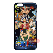 One Piece Straw Hat Pirates Cover Case for LG iPhone 4S 5S 5C 6 6S 7 Plus iPod Samsung Note 3 4 5 S3 S4 S5 Mini S6 S7 Edge Plus