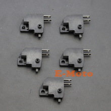 5Pcs Right Brake Light Switch For Chinese Scooter GY6 50cc 150cc QMB139 QMJ157 Moped new E-Moto(China)