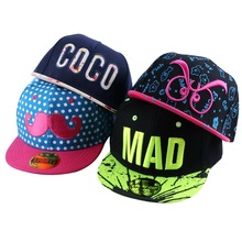 2016 new trendy custom design children hip hop snapback hats simple letter beauty baby baseball cap boy girl cute casquette