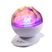 Aurora Borealis Night Light with Speaker, Color Changing LED Star Projector Decorative Light Sleeping Lamp for Children Baby Kid