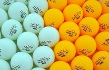 80pcs/lot Yellow and White  3-Star 40mm Table Tennis Balls Ping Pong balls
